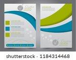 flyer template. design for a... | Shutterstock .eps vector #1184314468