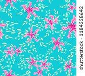 little floral seamless pattern... | Shutterstock .eps vector #1184338642