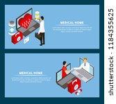 digital health concept   Shutterstock .eps vector #1184355625