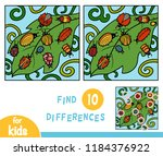 find differences  education... | Shutterstock .eps vector #1184376922