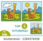 find differences  education... | Shutterstock .eps vector #1184376928