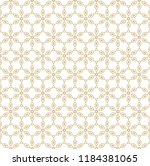 raster geometric gold and white ... | Shutterstock . vector #1184381065