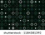 beautiful geometric pattern... | Shutterstock .eps vector #1184381392
