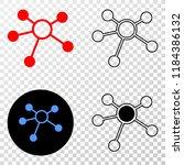 links eps vector pictograph...   Shutterstock .eps vector #1184386132