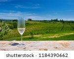 wine tasting in california.... | Shutterstock . vector #1184390662