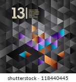 abstract design isometric... | Shutterstock .eps vector #118440445