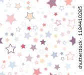 seamless vector repetitive... | Shutterstock .eps vector #1184410285