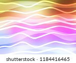 light multicolor  rainbow... | Shutterstock .eps vector #1184416465