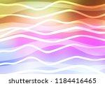 light multicolor  rainbow... | Shutterstock .eps vector #1184416465