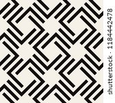 vector seamless pattern. modern ... | Shutterstock .eps vector #1184442478