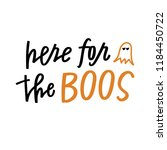 here for the boos | Shutterstock .eps vector #1184450722