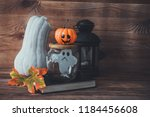 time to celebrate halloween. a... | Shutterstock . vector #1184456608