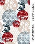 japanese chinese vector design... | Shutterstock .eps vector #1184472328
