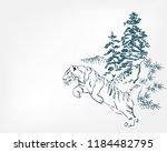 japanese chinese vector design... | Shutterstock .eps vector #1184482795