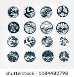 japanese chinese vector design... | Shutterstock .eps vector #1184482798
