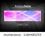 violet purple background. blue... | Shutterstock .eps vector #1184485255