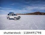 salar de uyuni  bolivia  march...   Shutterstock . vector #1184491798