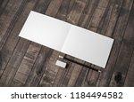 blank stationery mockup. blank... | Shutterstock . vector #1184494582