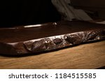 ebony tea tray set scene | Shutterstock . vector #1184515585