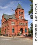 historical building in... | Shutterstock . vector #1184524405