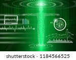 abstract background technology... | Shutterstock .eps vector #1184566525
