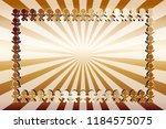 radial background material... | Shutterstock .eps vector #1184575075
