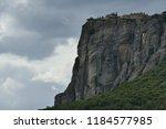 monastery of st. steven ... | Shutterstock . vector #1184577985