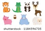 group of animals collection | Shutterstock .eps vector #1184596735