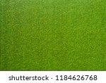 flat lay artificial lawn...   Shutterstock . vector #1184626768