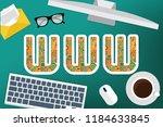 www vector concept design   Shutterstock .eps vector #1184633845