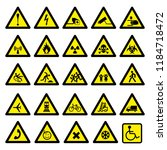 Collection Of Warning Signs...