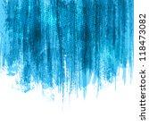 blue paint splashes background. ... | Shutterstock .eps vector #118473082
