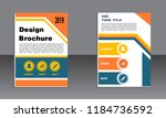 book cover vector modern... | Shutterstock .eps vector #1184736592