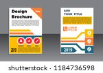 book cover vector modern... | Shutterstock .eps vector #1184736598
