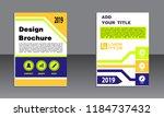 book cover vector modern... | Shutterstock .eps vector #1184737432