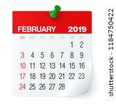 February 2019   Calendar....