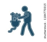 hygiene icon vector isolated on ... | Shutterstock .eps vector #1184770315