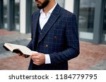 closeup  young business man... | Shutterstock . vector #1184779795