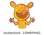 vector cartoon illustration.... | Shutterstock .eps vector #1184854462