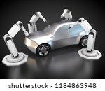 3d rendering  automobile... | Shutterstock . vector #1184863948