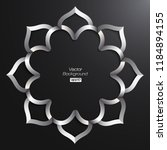 3d round islamic arabesque...   Shutterstock .eps vector #1184894155