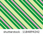 seamless pattern green stripes. ... | Shutterstock .eps vector #1184894242