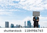 cropped image of businessman in ... | Shutterstock . vector #1184986765