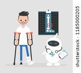 new technologies. modern health ...   Shutterstock .eps vector #1185000205