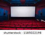 cinema interior of movie...   Shutterstock . vector #1185022198