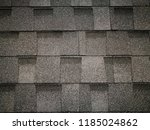 close up photo of soft roofing... | Shutterstock . vector #1185024862