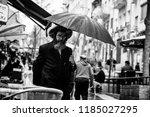 jerusalem  israel   march 9 ... | Shutterstock . vector #1185027295