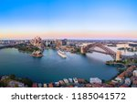 aerial panoramic view of... | Shutterstock . vector #1185041572