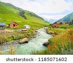Scenery Of Scenery Shkhara...