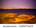 triest by nigt. night photo ... | Shutterstock . vector #1185075625